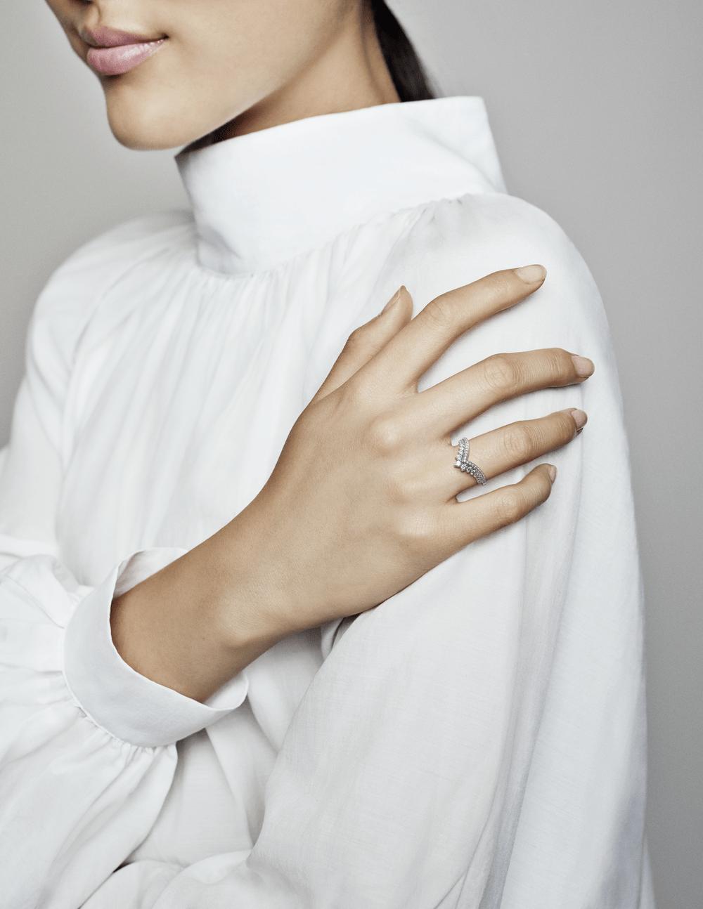 טבעת כסף משאלת הנסיכה