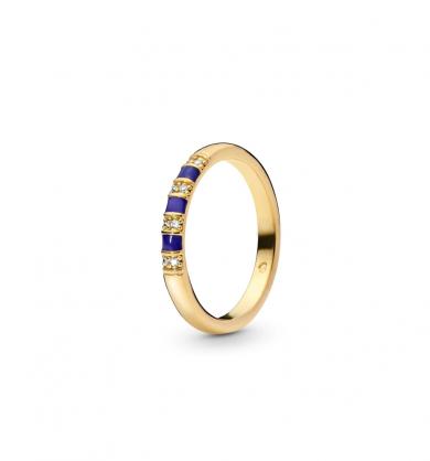 טבעת SHINE פסים אקזוטיים