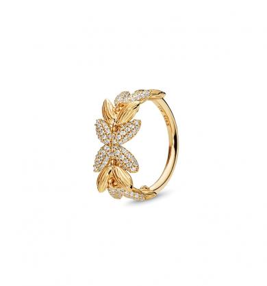 טבעת כסף יופי מלכותי
