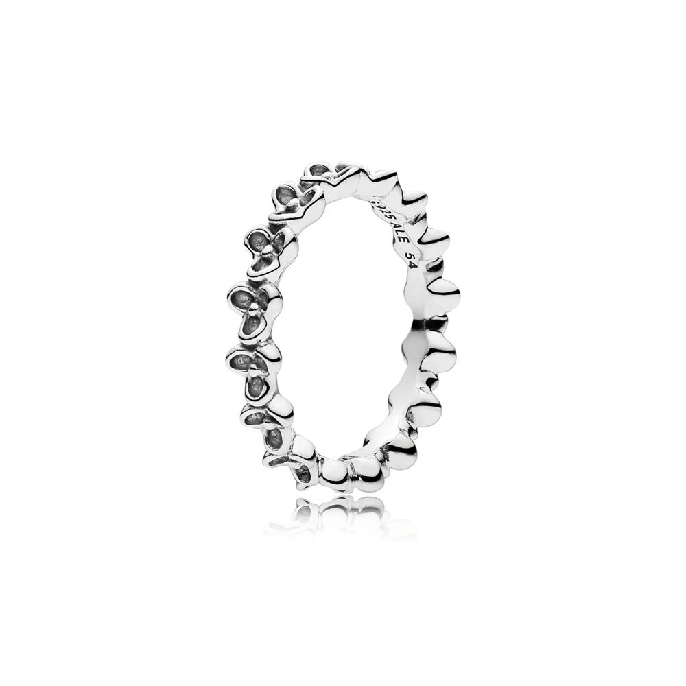 טבעת כסף גן פורח