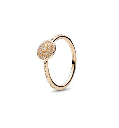 טבעת השתלבות כסף סטרלינג בשיבוץ זרקונים