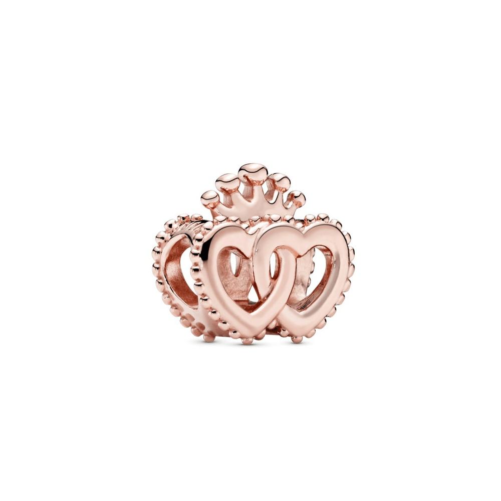 צארמ PANDORA רוז לבבות מלכותיים מאוחדים