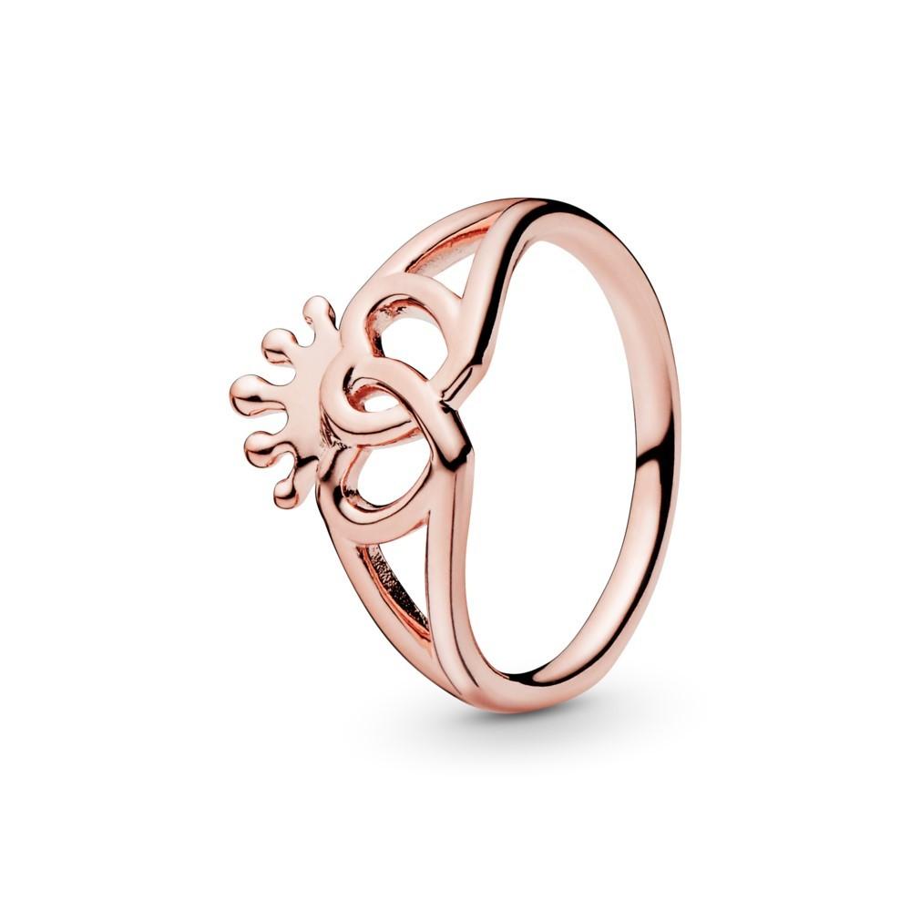 טבעת PADNORA רוז לבבות מלכותיים מאוחדים
