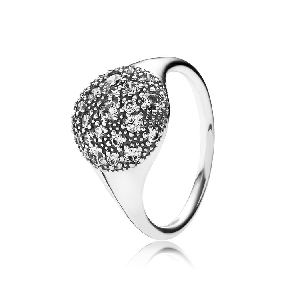 טבעת חותם כוכבי לכת בשיבוץ זרקונים