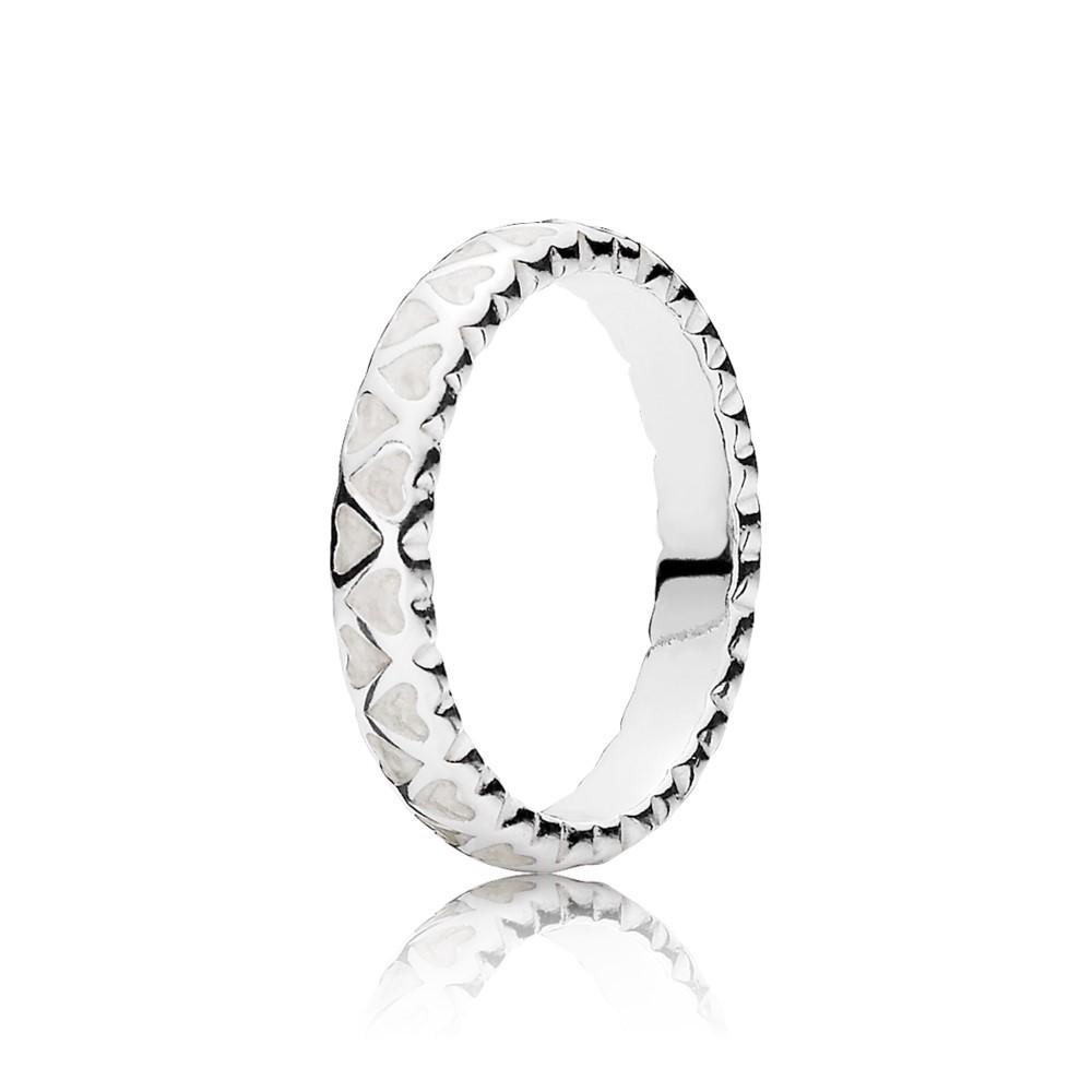 טבעת כסף שפע של אהבה