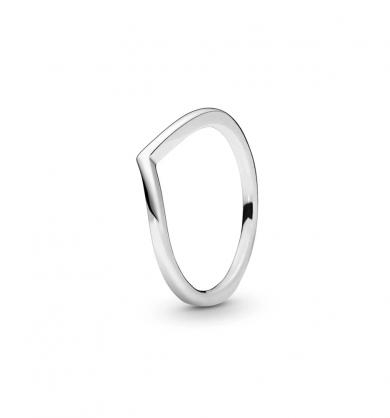 טבעת כסף משאלה קורנת
