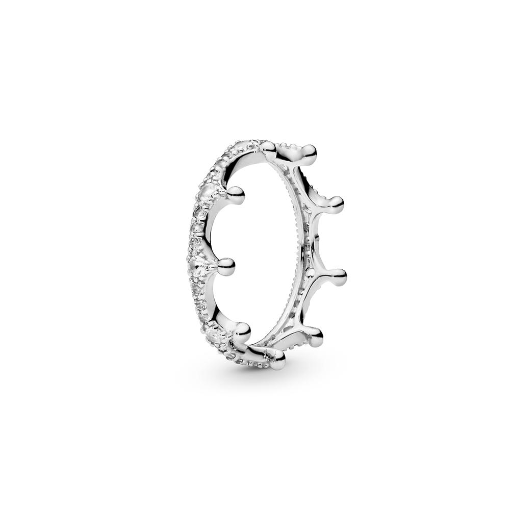 טבעת כסף כתר מכושף