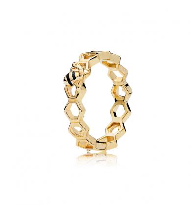 טבעת SHINE דבורת הדבש