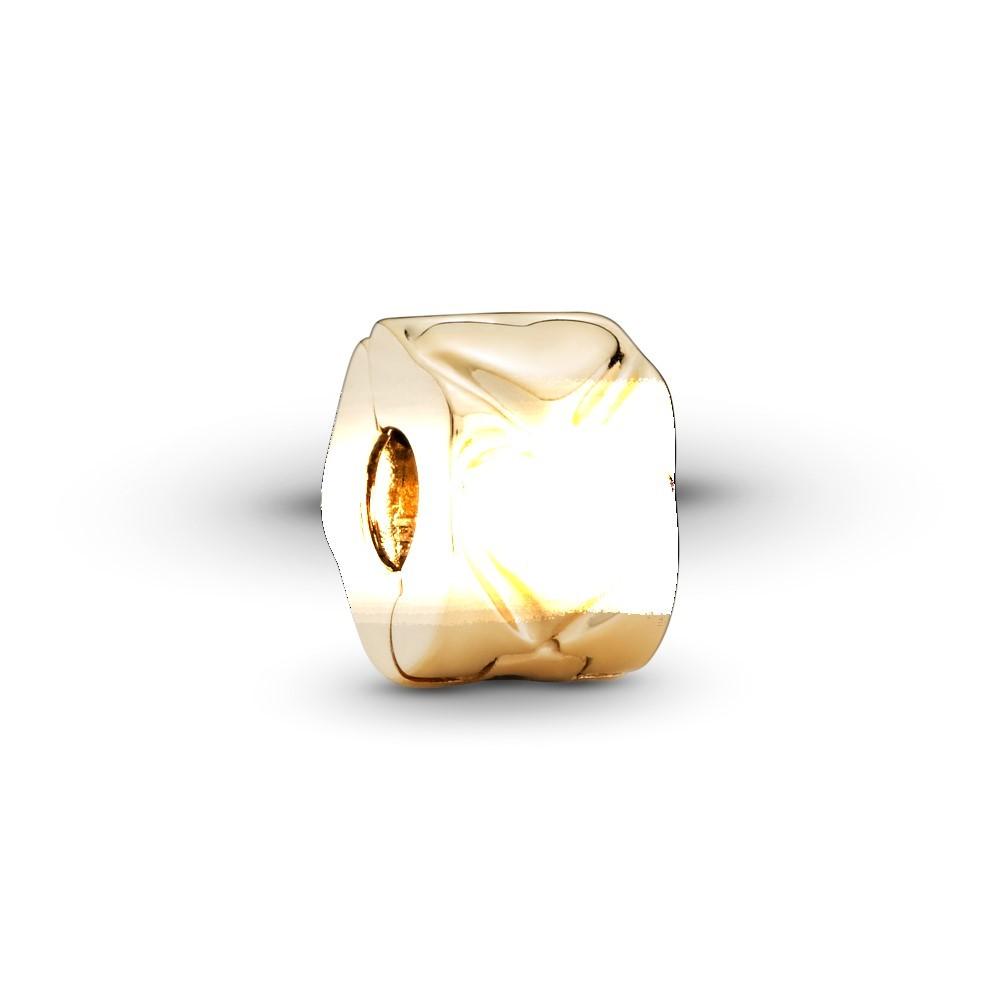 קליפס זהב לב רקוע