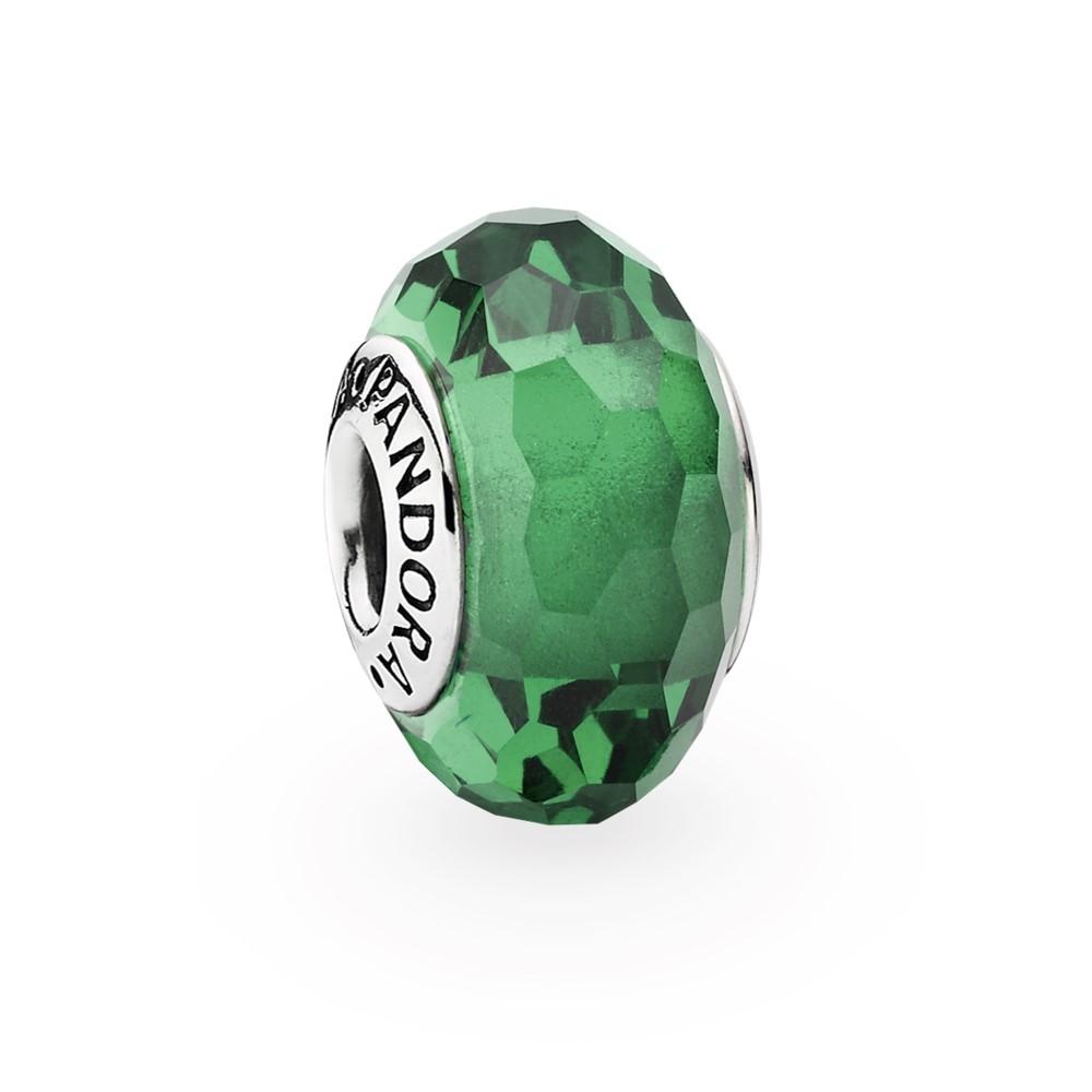 צארמ זכוכית מוראנו רקועה ירוק