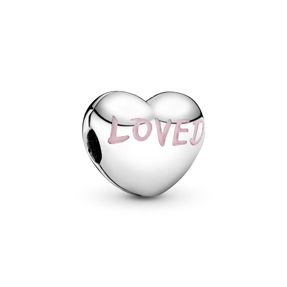 קליפס כסף לב אוהב