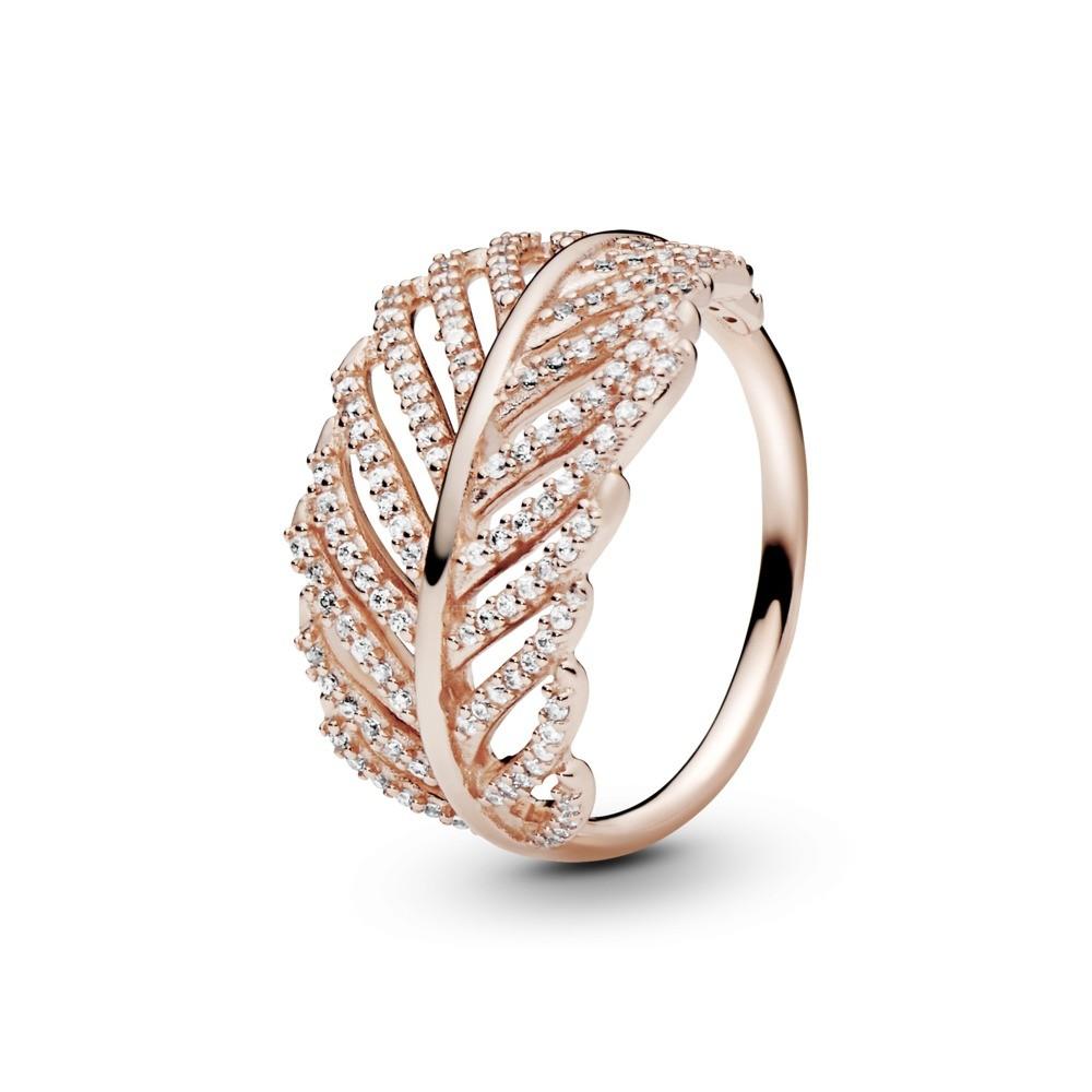 טבעת PANDORA רוז נוצה
