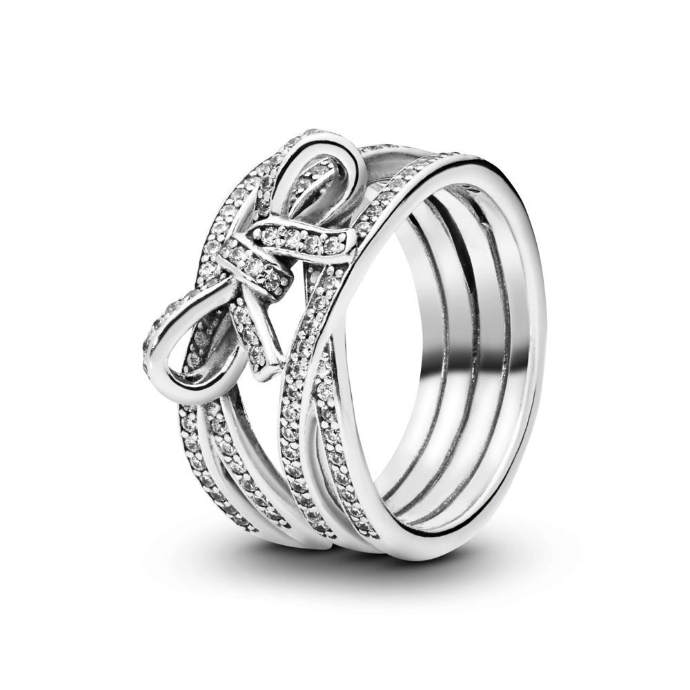 טבעת כסף רחבה עדינות סנטימנטלית