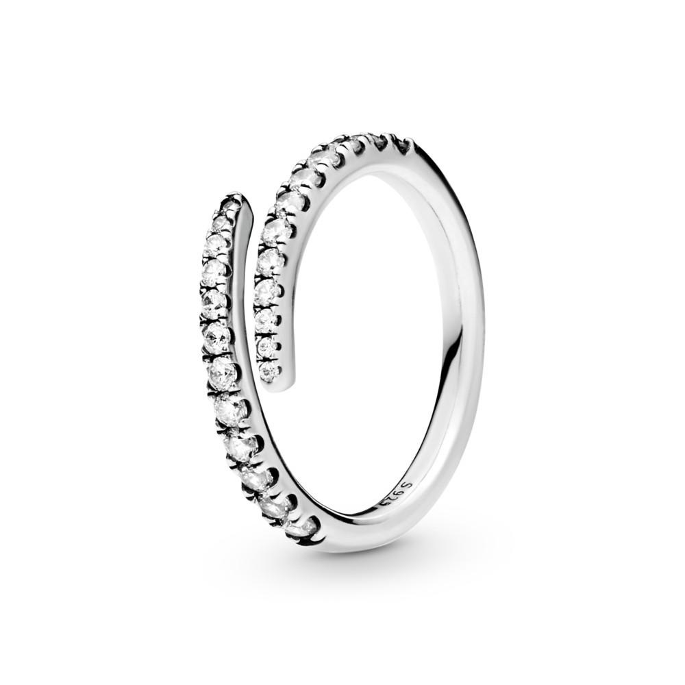 טבעת כסף כוכב נופל