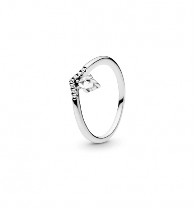 PANDORA Rose ring with clear cubic zirconia