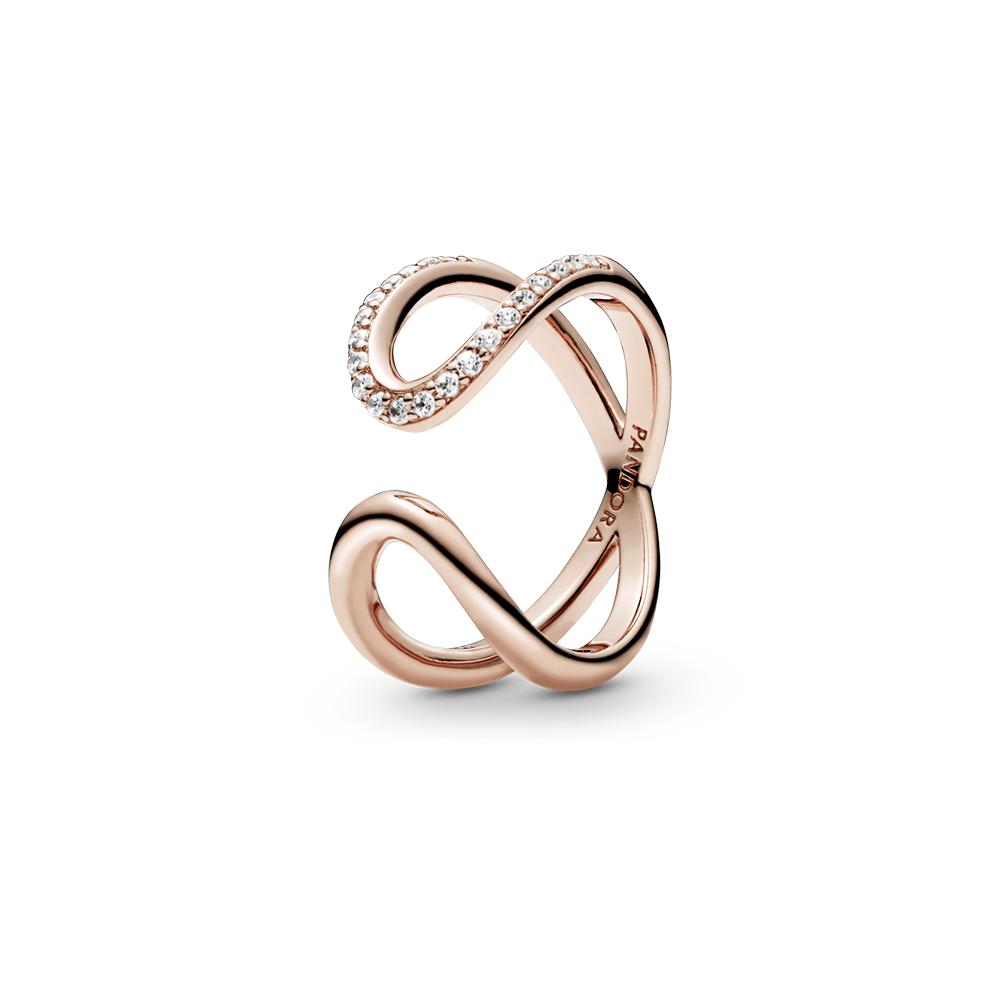טבעת רוז פתוחה אינפיניטי
